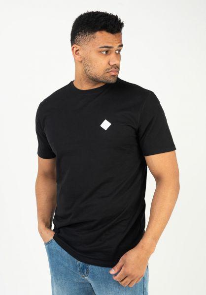Mazine T-Shirts Richmond black vorderansicht 0324067