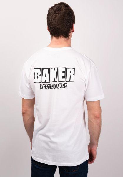 Baker T-Shirts Brand Logo Dubs white vorderansicht 0394010