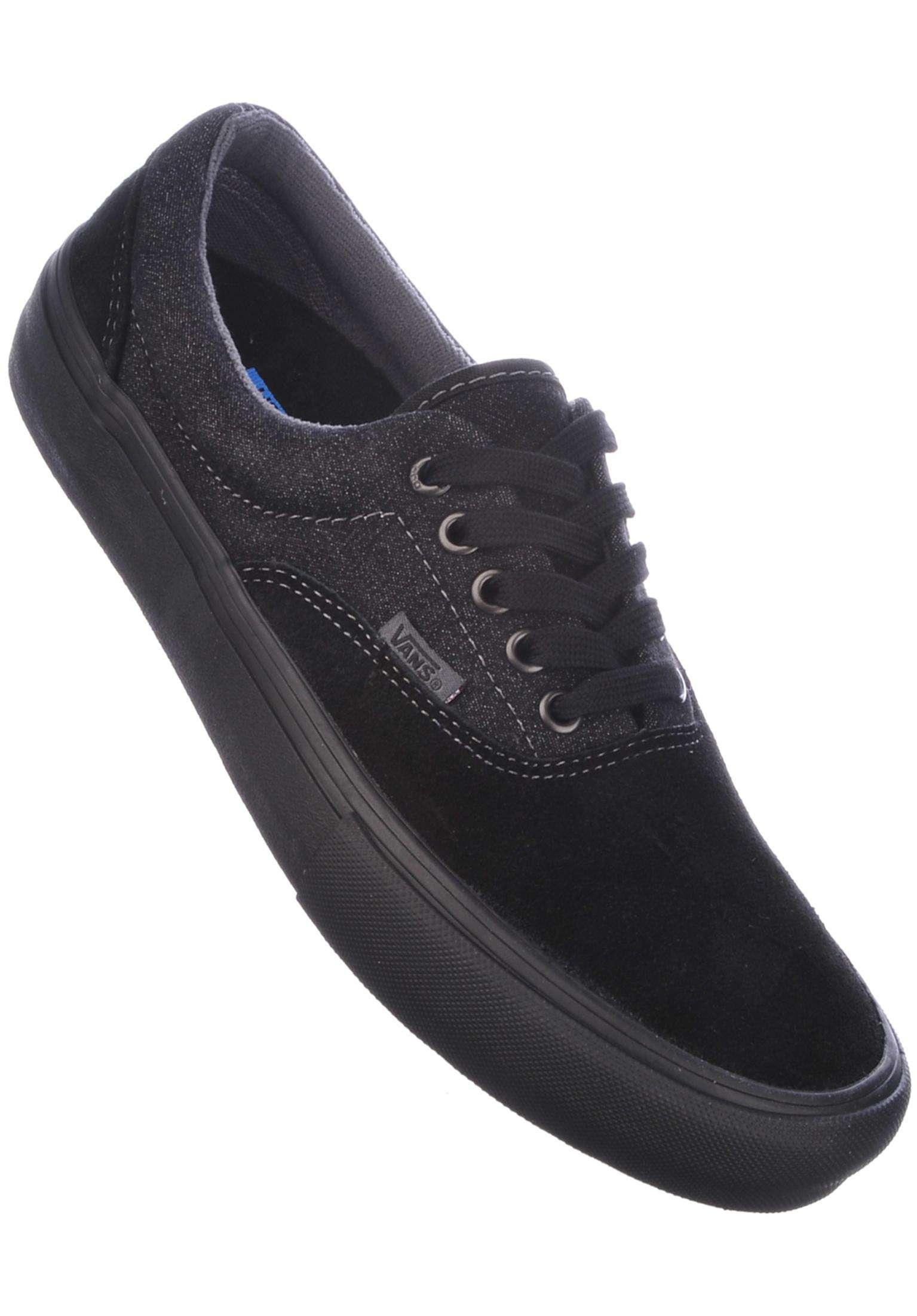 92aea9e9b123 Era Pro Vans All Shoes in black-black-asphalt for Men