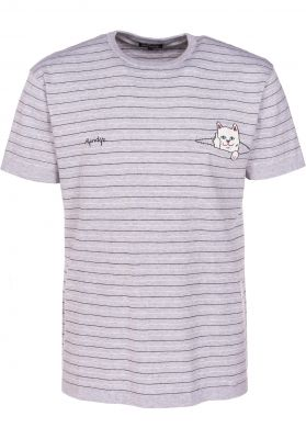 709131c9d394 Peeking Nermal Jacquard Knit Rip N Dip T-Shirts in huntergreen-pink ...