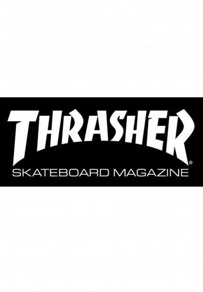 Thrasher Verschiedenes Skate Mag Medium Sticker black Vorderansicht