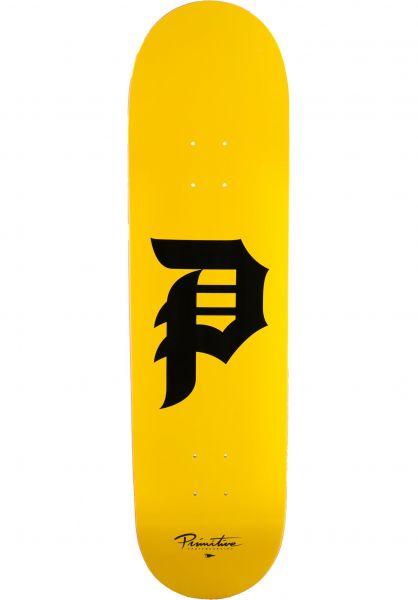 Primitive Skateboards Skateboard Decks Dirty P Core multicolored vorderansicht 0266739