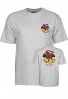 Powell-Peralta T-Shirts Cab-Dragon-II greymottled Vorderansicht