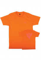 Orbs T-Shirts Ghost orange-neonpink Vorderansicht