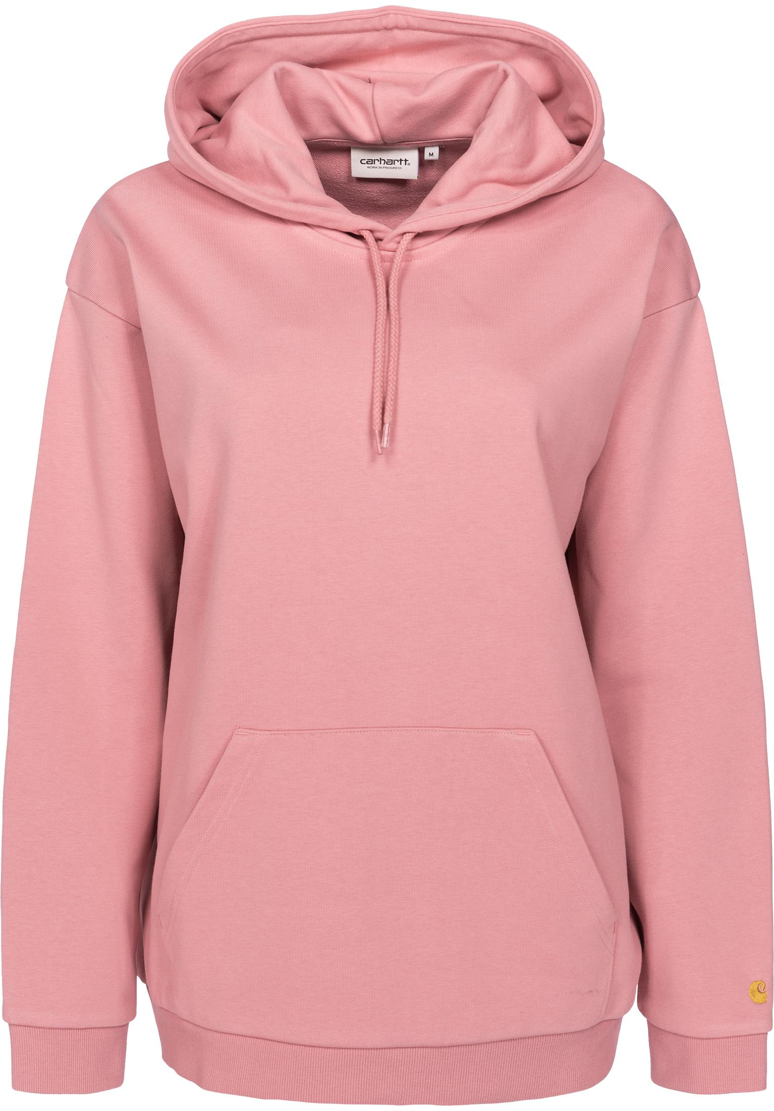 ce3500863914 W  Hooded Chase Carhartt WIP Hoodies in softrose-gold for Women