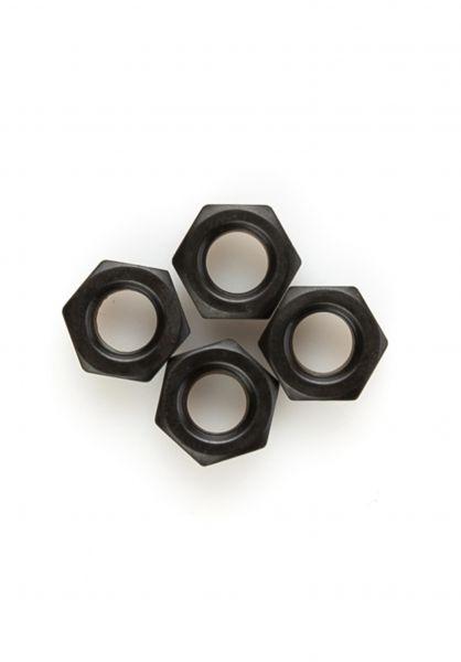 TITUS Sonstiges Axlenuts 4er Set 8mm black vorderansicht 0150432