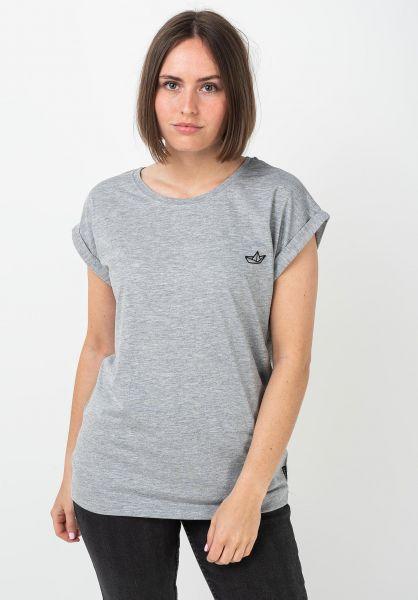 Ezekiel T-Shirts Paperboat D heathergrey vorderansicht 0322321