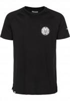 Reell-T-Shirts-Universe-Pocket-black-Vorderansicht