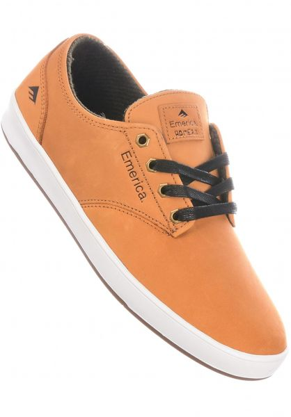 Emerica Alle Schuhe Romero Laced brown-gold-black vorderansicht 0604833