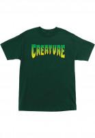Creature-T-Shirts-Logo-green-Vorderansicht