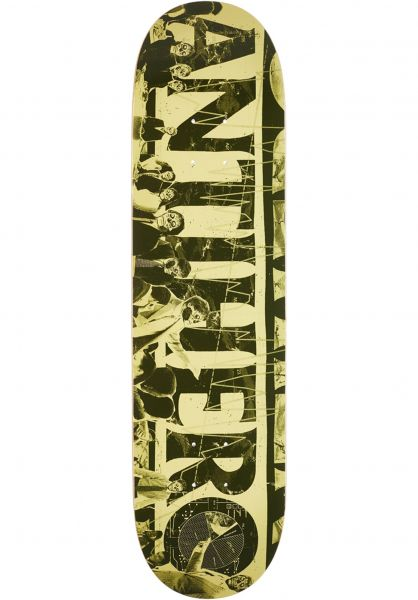 Anti-Hero Skateboard Decks Third Quarter yellow-green Vorderansicht