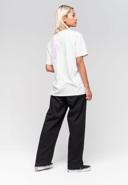Santa-Cruz T-Shirts Universal Dot athleticheather vorderansicht 0322918