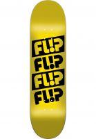 Flip Skateboard Decks Quattro Odyssey yellow Vorderansicht