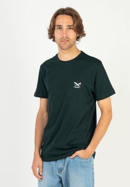 iriedaily T-Shirts Chestflag nightforest vorderansicht 0321467
