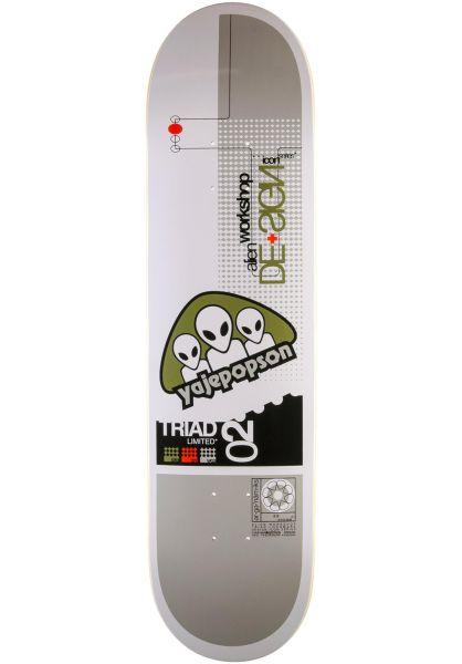 Alien-Workshop Skateboard Decks Icon Series Popsom white vorderansicht 0263280