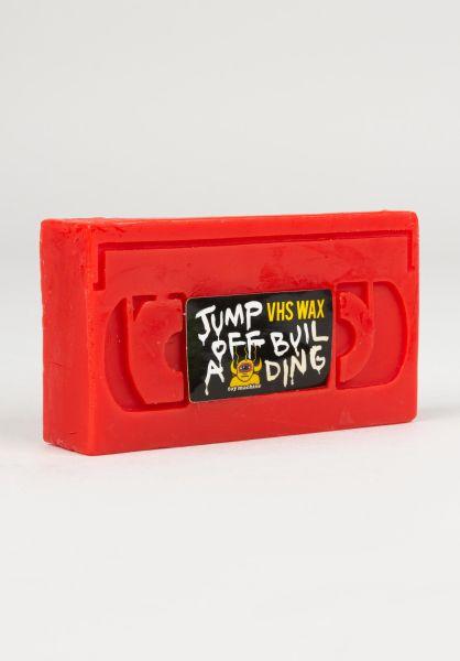 Toy-Machine Skate-Wachs Wax V.H.S Jump of a Building red vorderansicht 0200063