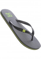 DC Shoes Sandalen Spray grey-yellow Vorderansicht
