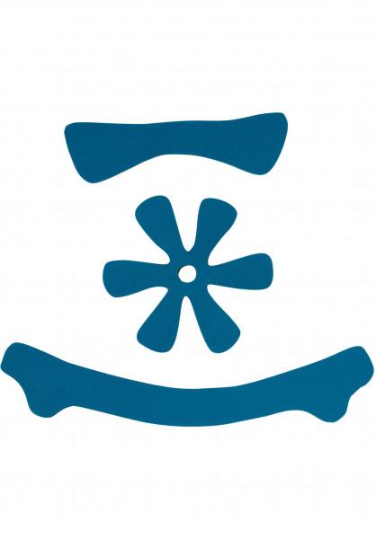TSG Diverse Schoner Meta Helmet Pad Kit DC blue Vorderansicht