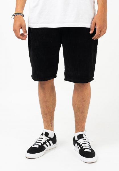 Homeboy Chinoshorts X-tra Baggy Cord Short black vorderansicht 0281056