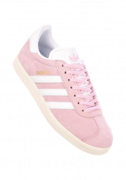 adidas Alle Schuhe Gazelle wonderpink-white-gold Vorderansicht