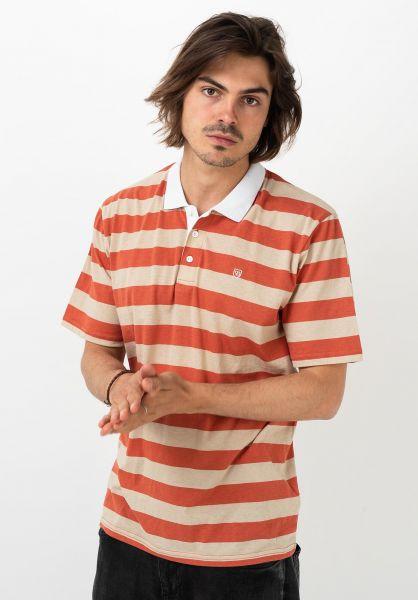 Brixton Polo-Shirts Hilt II Polo autumn-safari vorderansicht 0138425