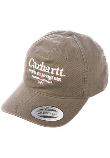 Carhartt WIP Caps Commission cypress vorderansicht 0566743