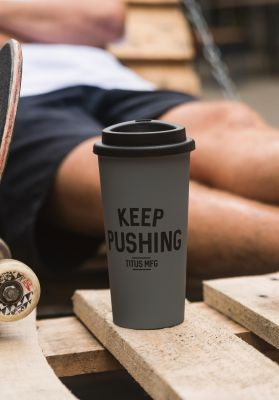 TITUS Keep Pushing Thermo Mug