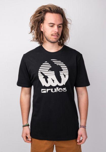 Rules T-Shirts Doves black vorderansicht 0395410