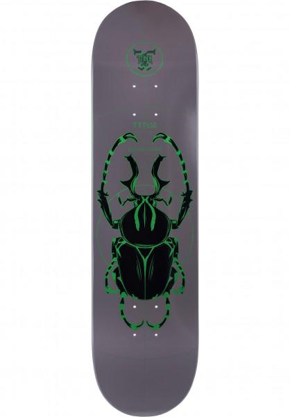 TITUS Skateboard Decks Beetle T-Fiber GREEN green Vorderansicht
