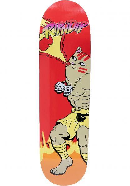 Rip N Dip Skateboard Decks Combo red vorderansicht 0265256