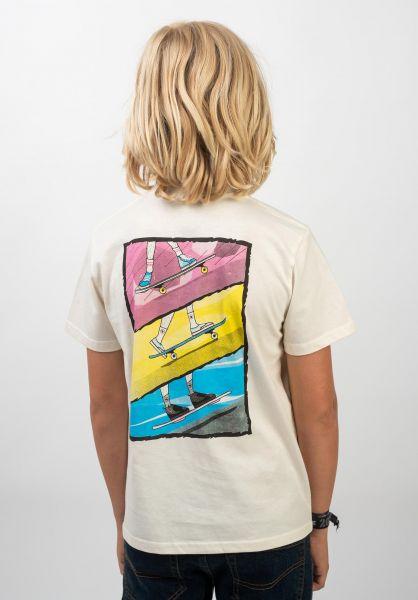 TITUS T-Shirts Acum Kids offwhite vorderansicht 0399271