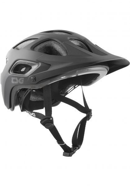 TSG Helme Seek Solid Color III satin black Vorderansicht