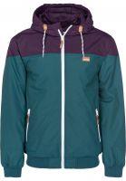iriedaily Winterjacken Insulaner Jacket darkpurple Vorderansicht