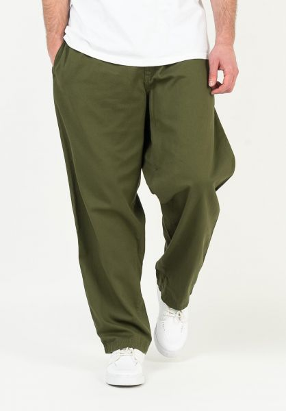 DC Shoes Chinos und Stoffhosen Mechanic fatiquegreen vorderansicht 0204299