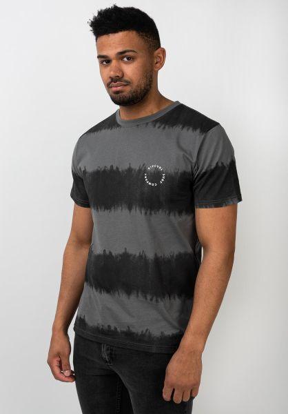 Rip Curl T-Shirts Acidoulous black vorderansicht 0321549