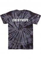 loser-machine-t-shirts-black-hand-tie-dye-black-spider-vorderansicht-0322772