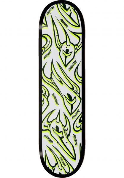 Darkstar Skateboard Decks Overprint RHM lime vorderansicht 0266669