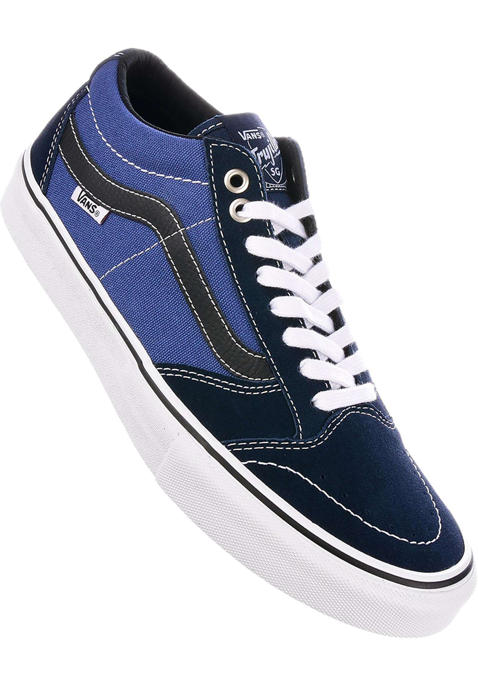 TNT SG Vans All Shoes in dressblues-navy for Men  7e07e7144