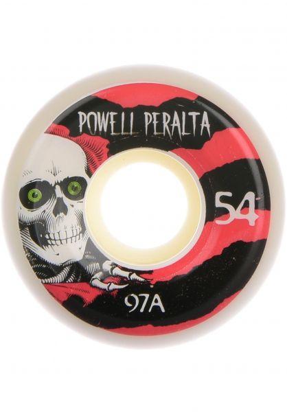 Powell-Peralta Rollen Ripper 97A white-pink vorderansicht 0132809