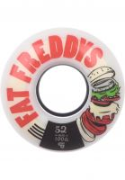 TITUS Rollen Fat Freddys Wide Cut Core 100A white-red Vorderansicht