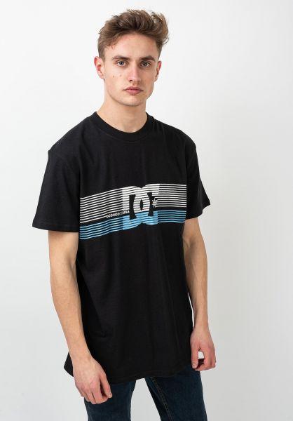 DC Shoes T-Shirts Front Surface black vorderansicht 0321216