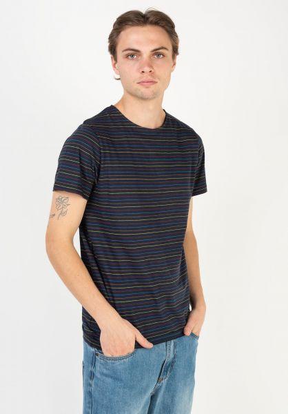 Forvert T-Shirts Reimar navy-multi vorderansicht 0320128