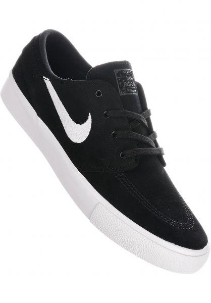 Nike SB Alle Schuhe Zoom Stefan Janoski RM black-white-thundergrey vorderansicht 0604615