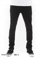 KR3W Jeans K-Skinny jetblack Vorderansicht