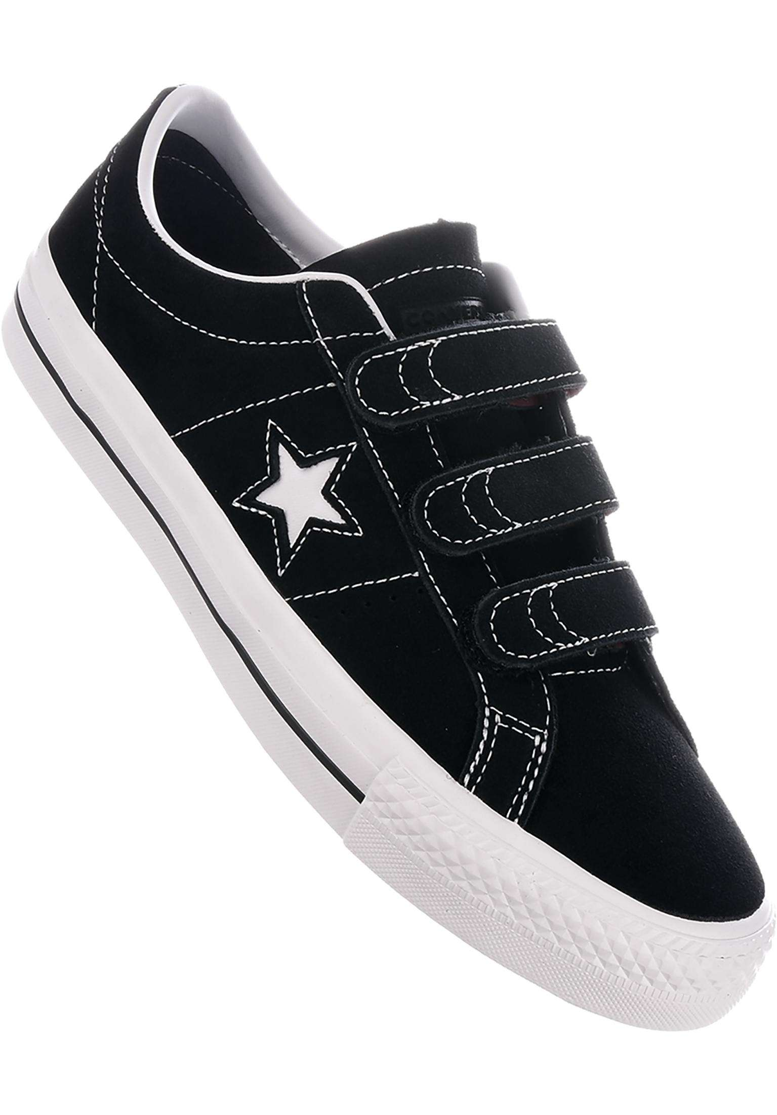 5a8c33eebc8a One Star Pro 3V Converse CONS All Shoes in black for Men