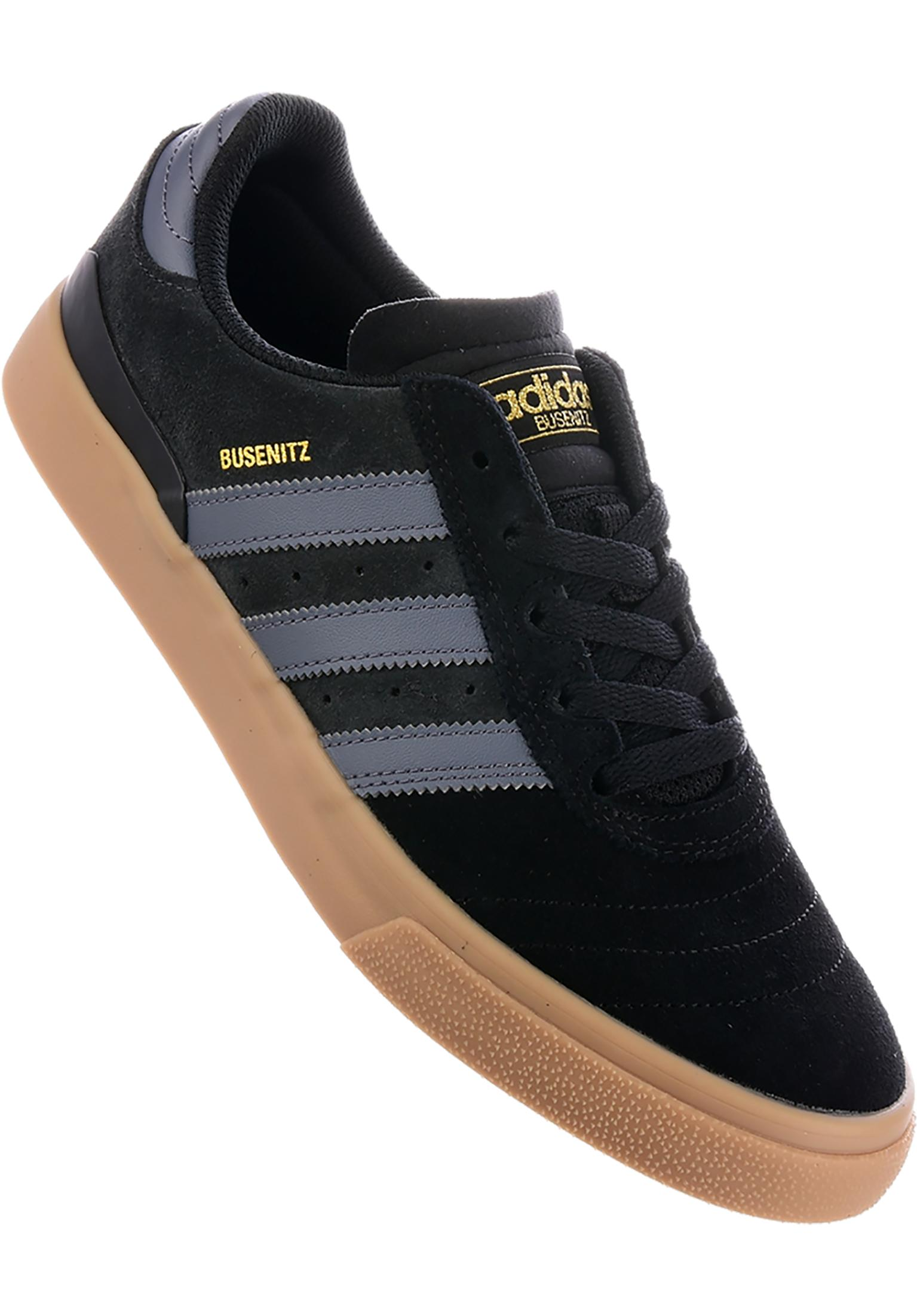 Busenitz Vulc ADV adidas-skateboarding All Shoes in coreblack-onix-gum for  Men  8ba1e4187