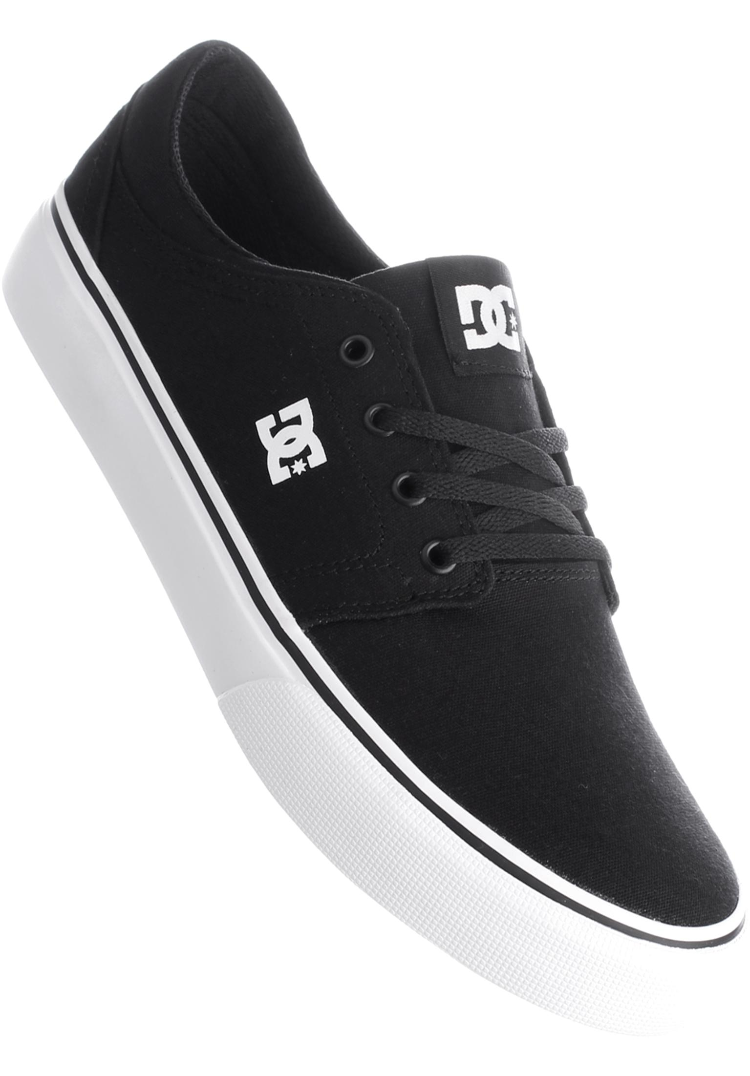 29a473d5a62e Trase TX DC Shoes All Shoes in black-white for Men | Titus