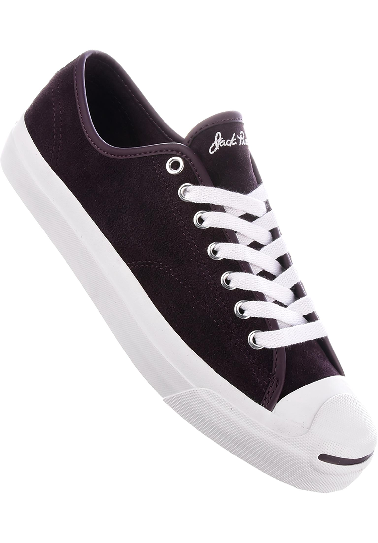 8283fabda135de Jack Purcell Pro Ox Converse CONS All Shoes in blackcherry-white for Men