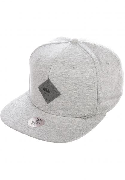 Djinns Caps 6P SB Flex Basic Beauty heathergrey vorderansicht 0566488