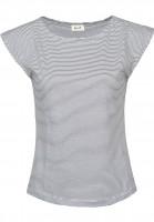 Forvert T-Shirts Charlston blue-white Vorderansicht